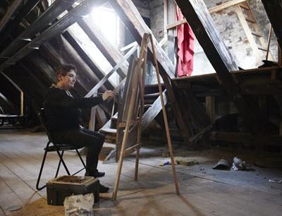 Schutzmann maler på loftet400px